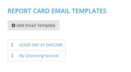 report card email templates